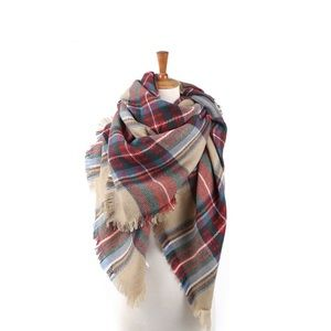 Accessories - Oversized Soft Blanket Scarf